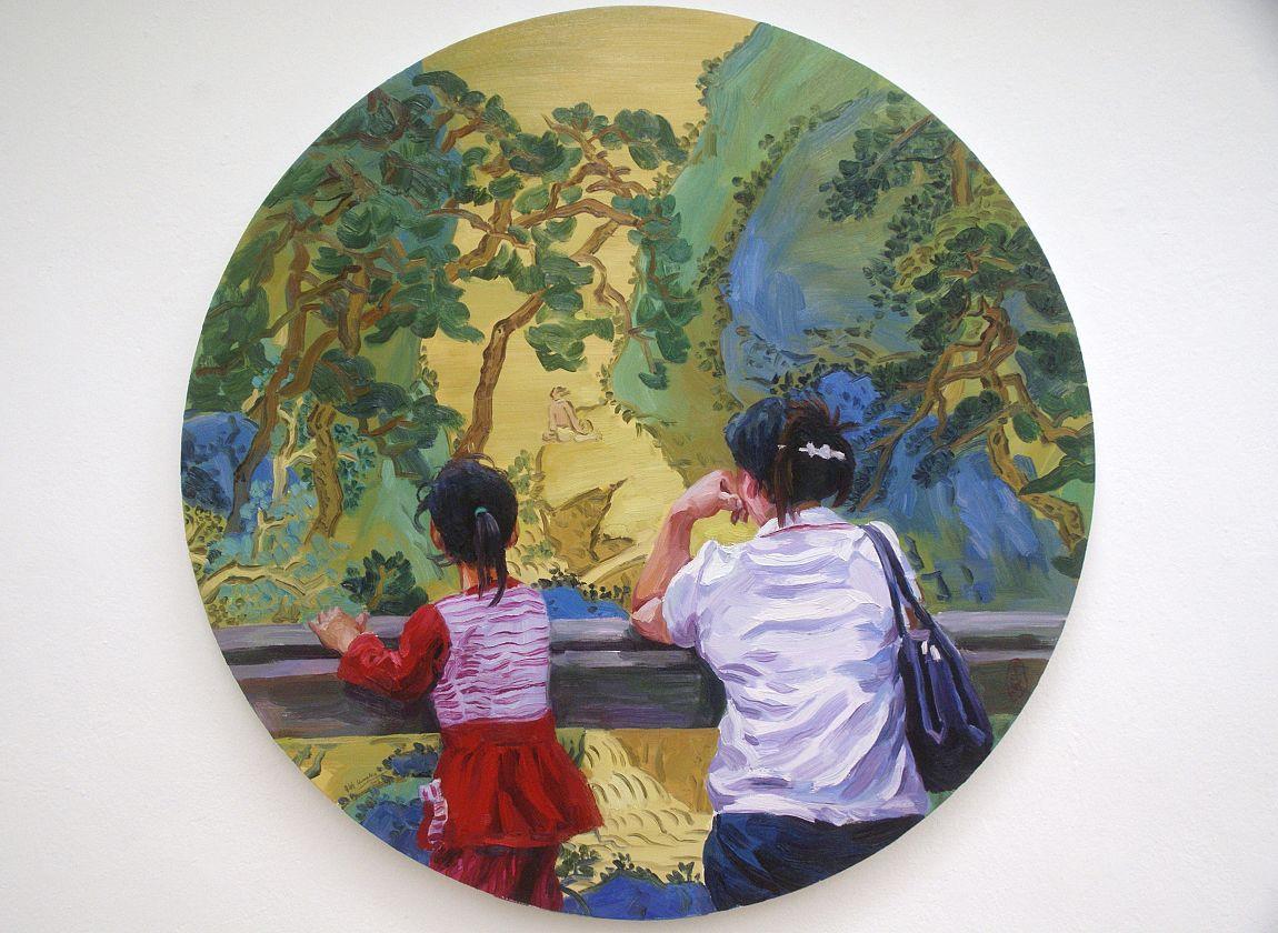 Huang Min, Malerei, © Galerie Schmidt Berlin