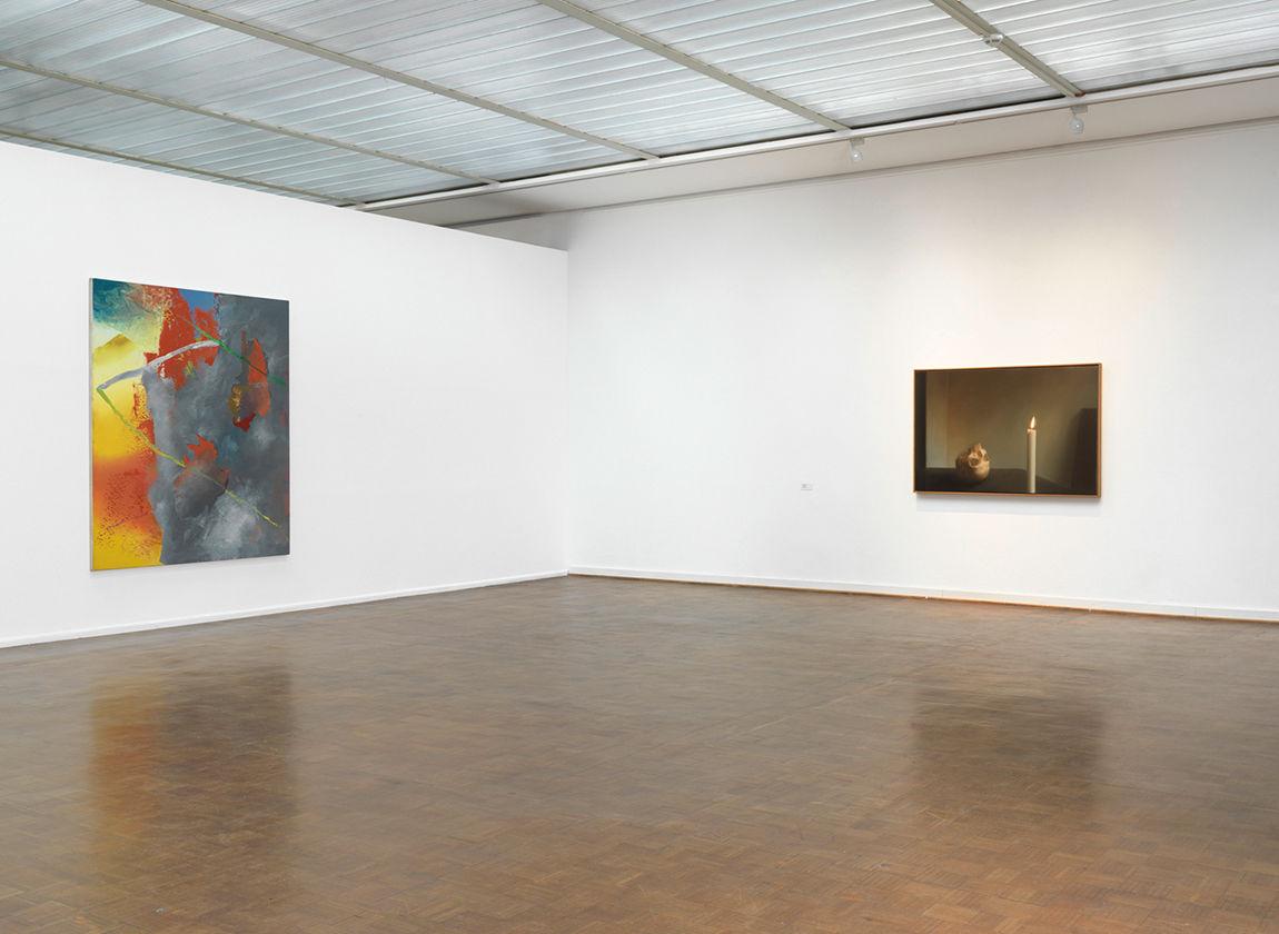 Blick in die Ausstellung von Gerhard Richter