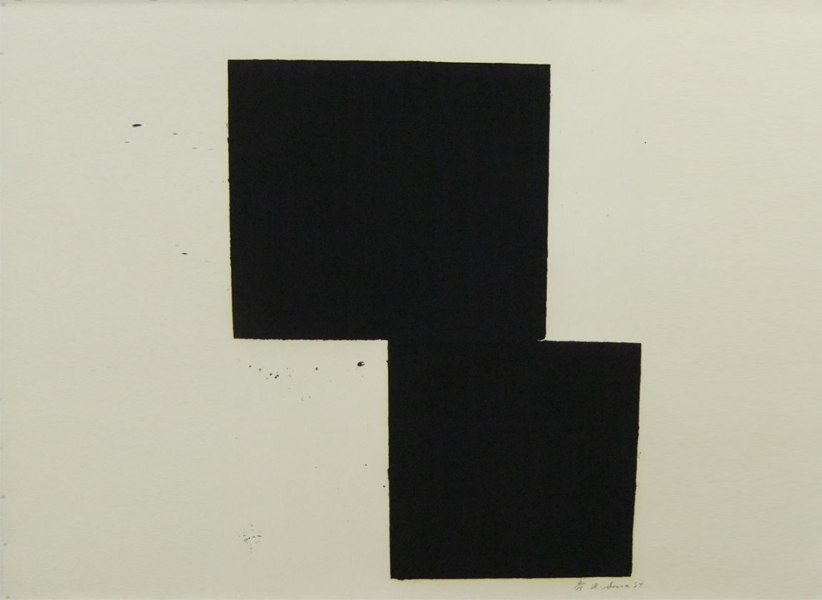 Richard Serra, Ernie´s Mark, 1985, © Richard Serra