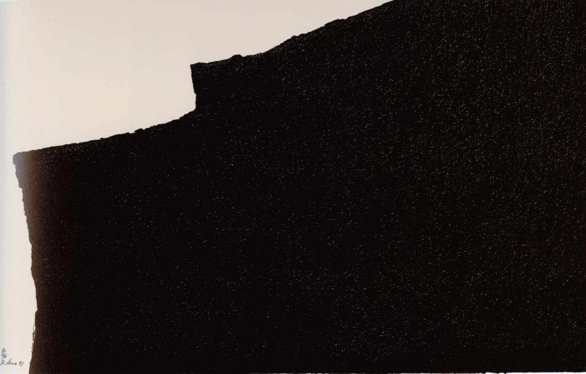 Richard Serra, Iceland, 1991, © Richard Serra