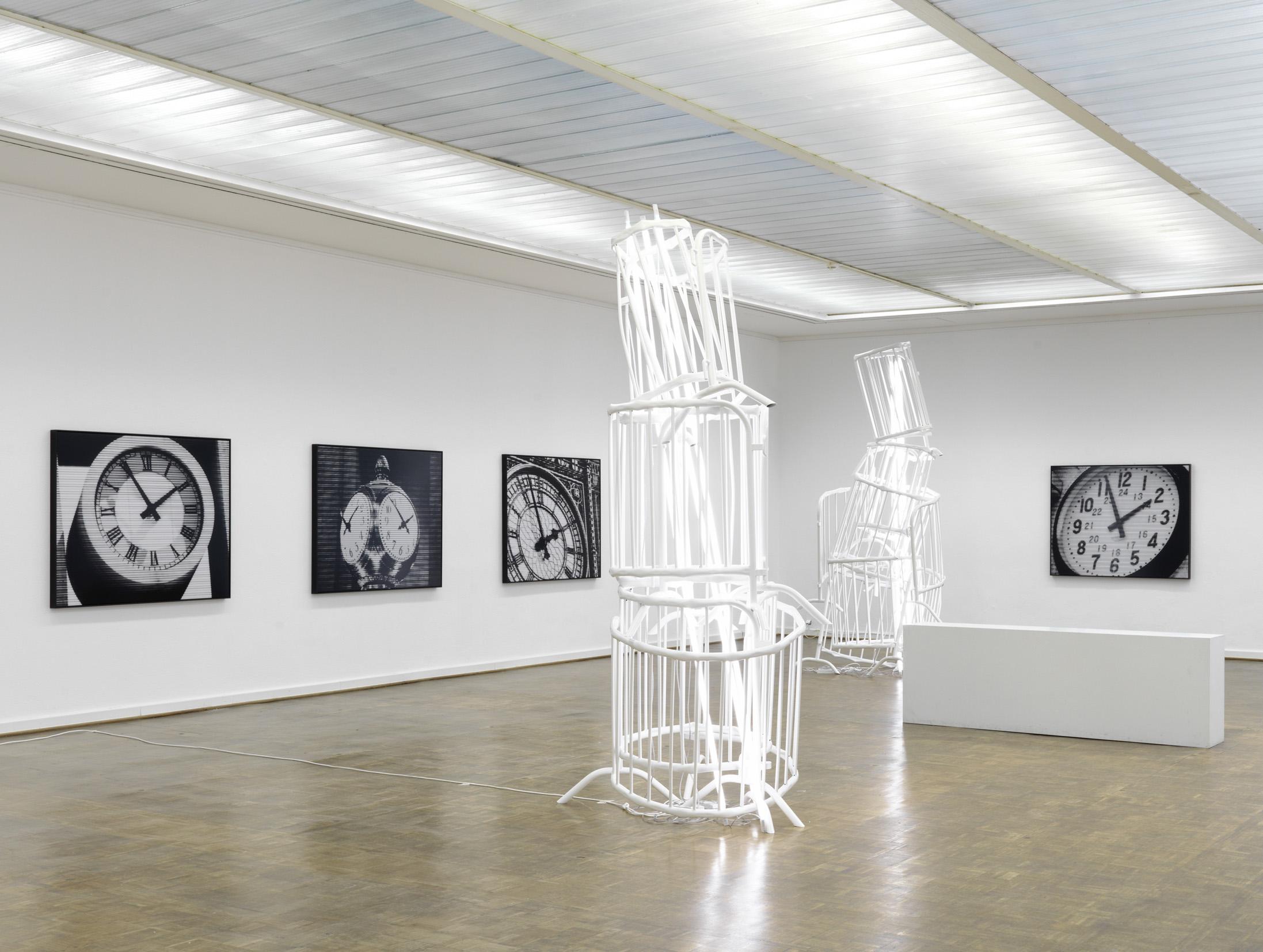 Bettina Pousttchi, Ausstellungsansicht Kunsthalle Rostock, Foto: Bernd Borchardt