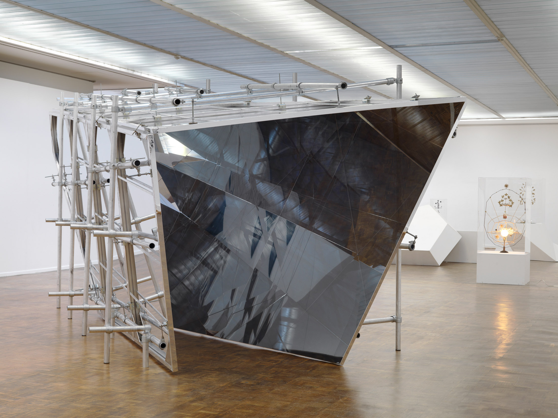 Olafur Eliasson, Ausstellungsansicht Kunsthalle Rostock, Foto: Bernd Borchardt