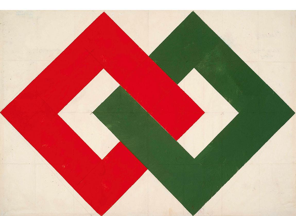 Herrmann Glöckner, letzte Ausarbeitung 1974, Sammlung der Kunsthalle Rostock