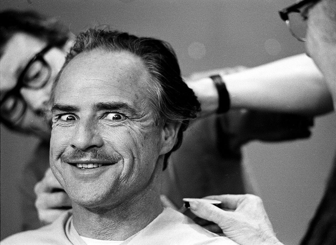 ©Steve Schapiro, Marlon Brando, makeup Double Page