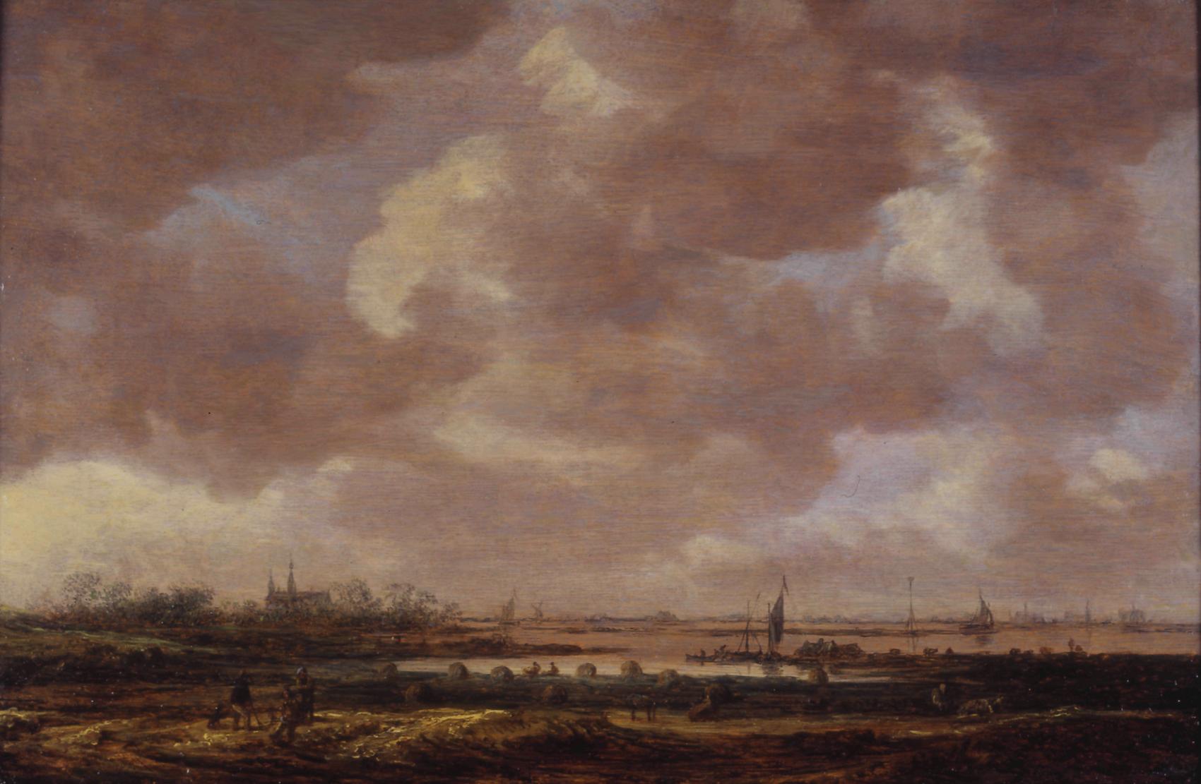 Jan van Goyen, Blick über eine weite Flachlandschaft, Courtesy Stiftung Situation Kunst, © 2010 die jeweiligen Künstlerinnen und Künstler bzw. deren Rechtsnachfolger