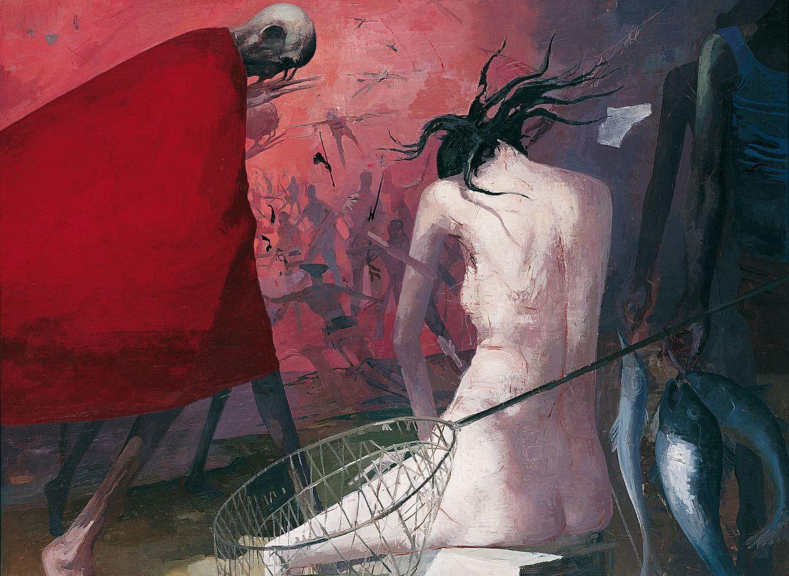 Arno Rink, Nächtlich heimwärts, © Galerie Schwind