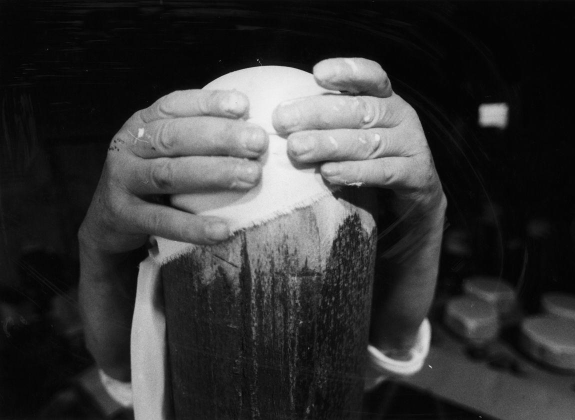 Günther Uecker, © Foto: WOLFGANG STAIGER (Ausschnitt)