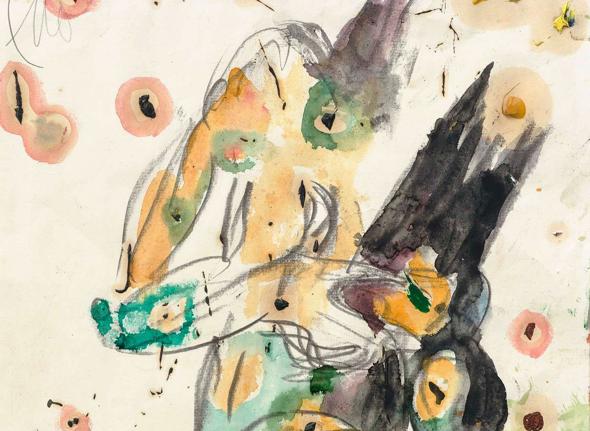 Markus Lüpertz, Ohne Titel (Apoll), 2015 (Ausschnitt)