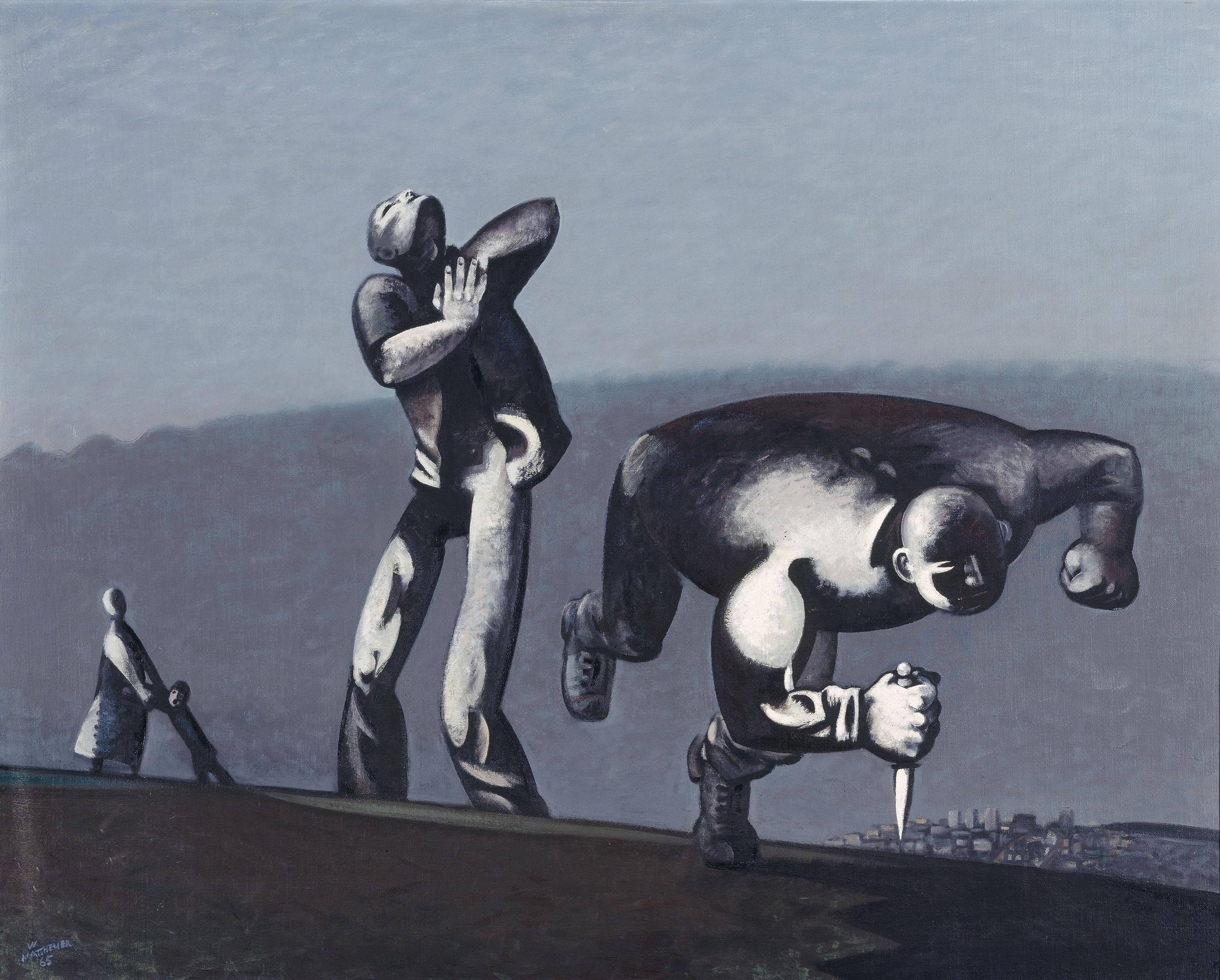 Wolfgang Mattheuer Kain, 1965  (Ausschnitt)