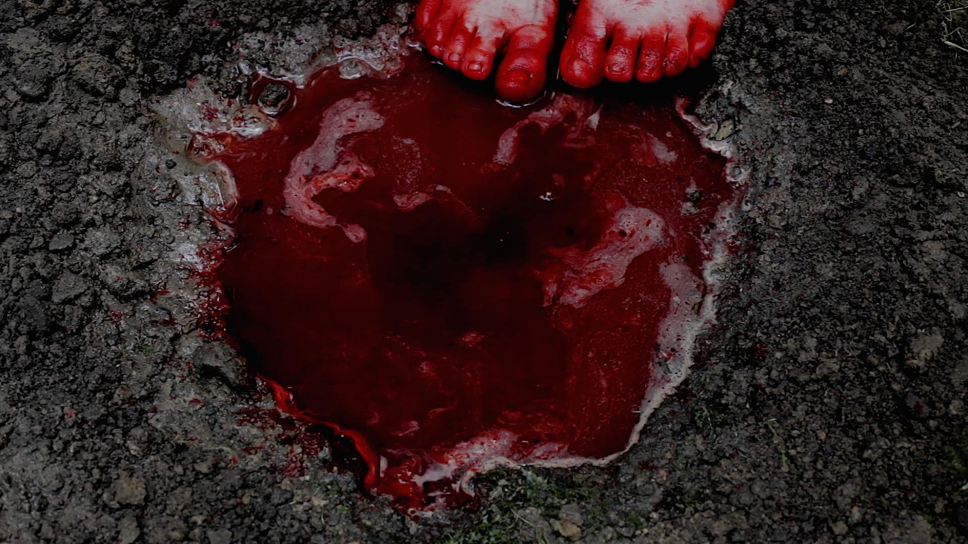 Chiharu Shiota earth and blood, 2014  (Ausschnitt)