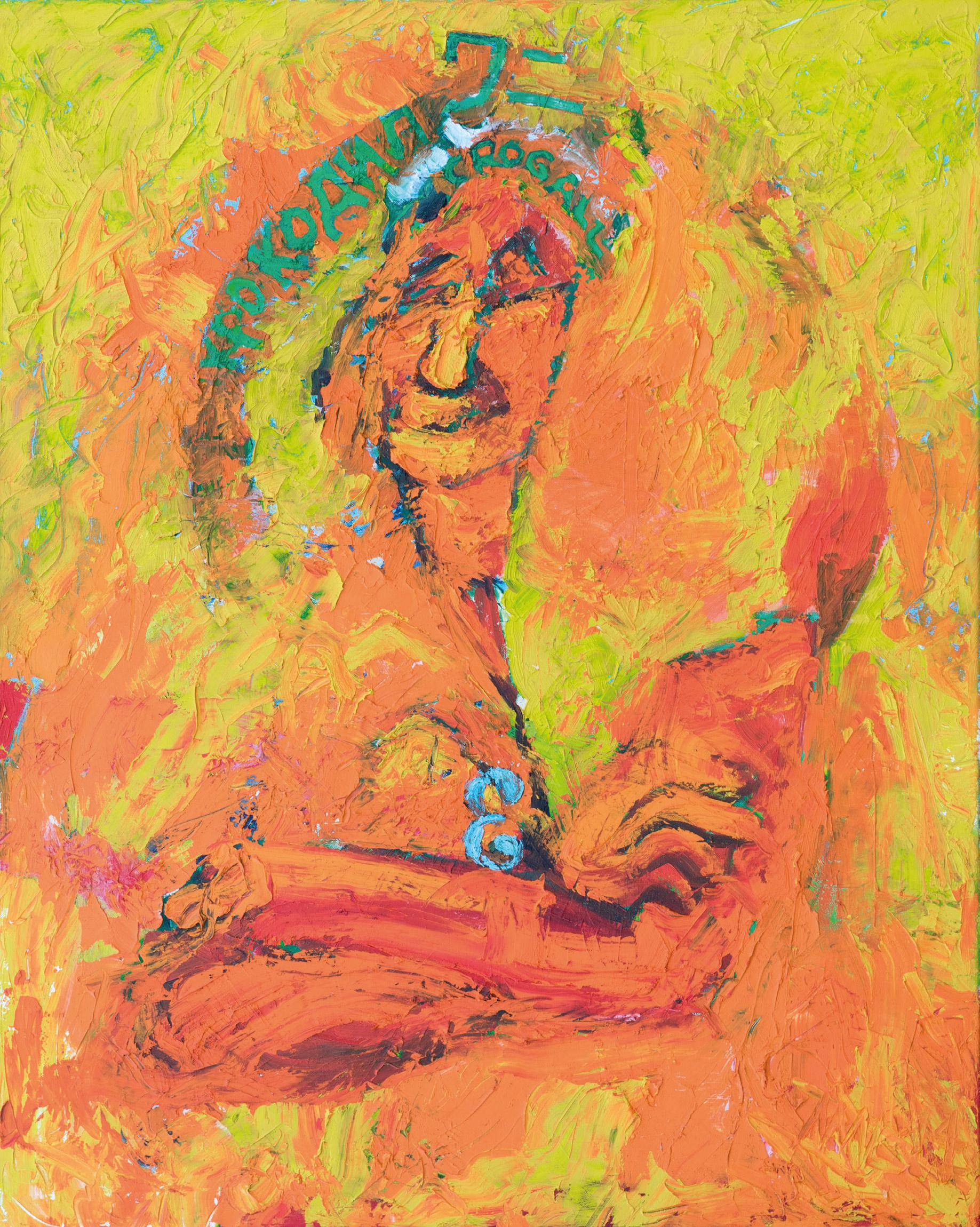 Nil Auslaender Selbstdritt (Selbstportrait), Die Ahnen, ©Nil Auslaender