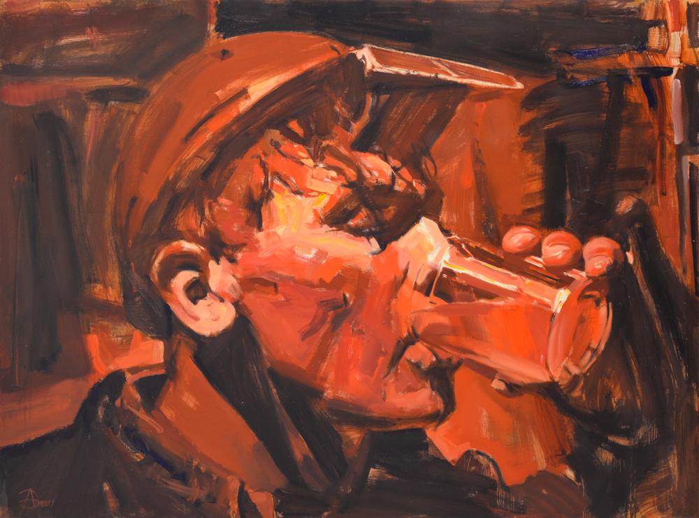 Eduard Anikonov Thirst 2017 Öl auf Leinwand 150 x 200 cm © Eduard Anikonov