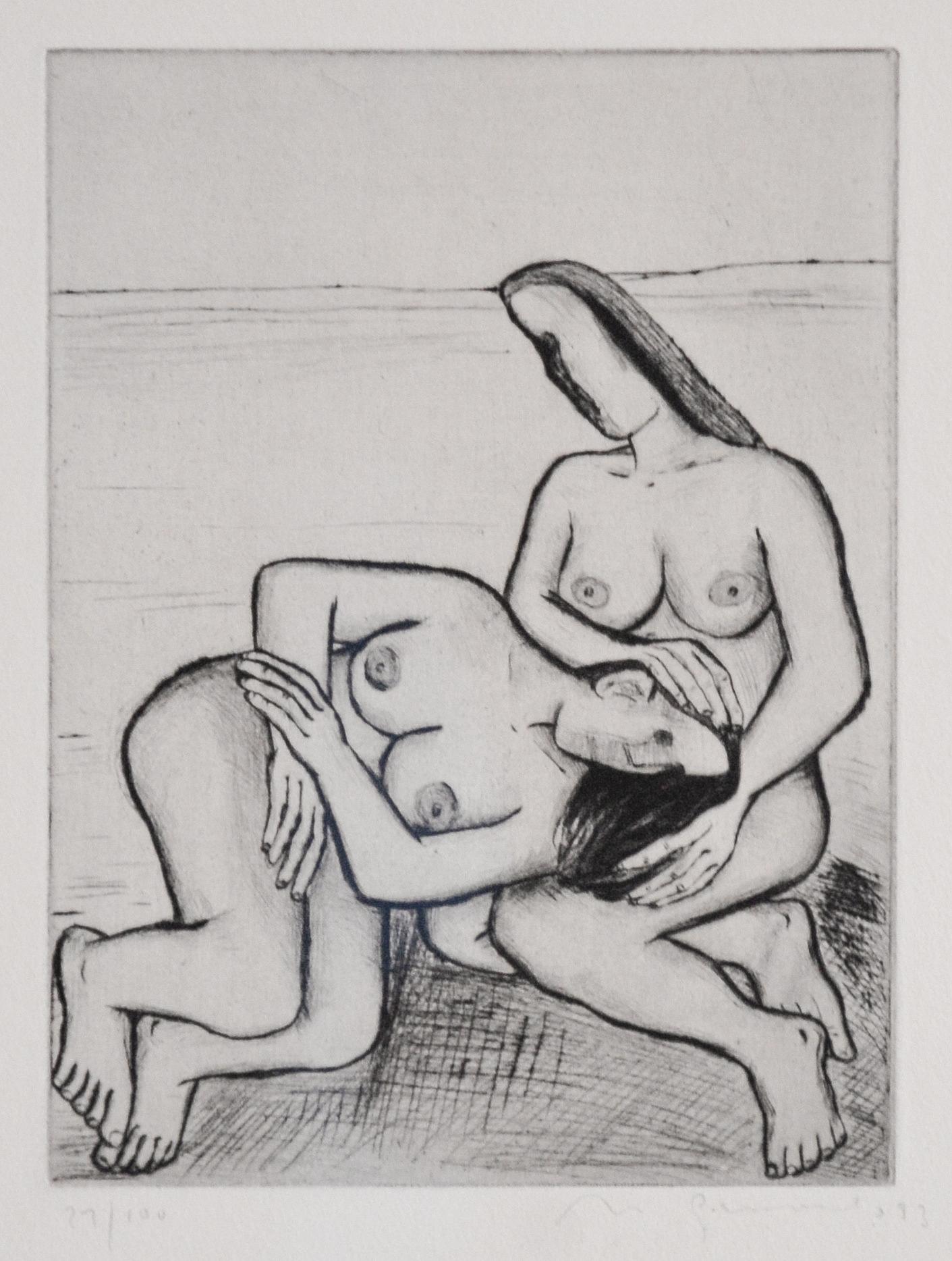 Nuria Quevedo Illustrationen zu Kassandra von Christa Wolf aus Sammlung der Kunsthalle Rostock