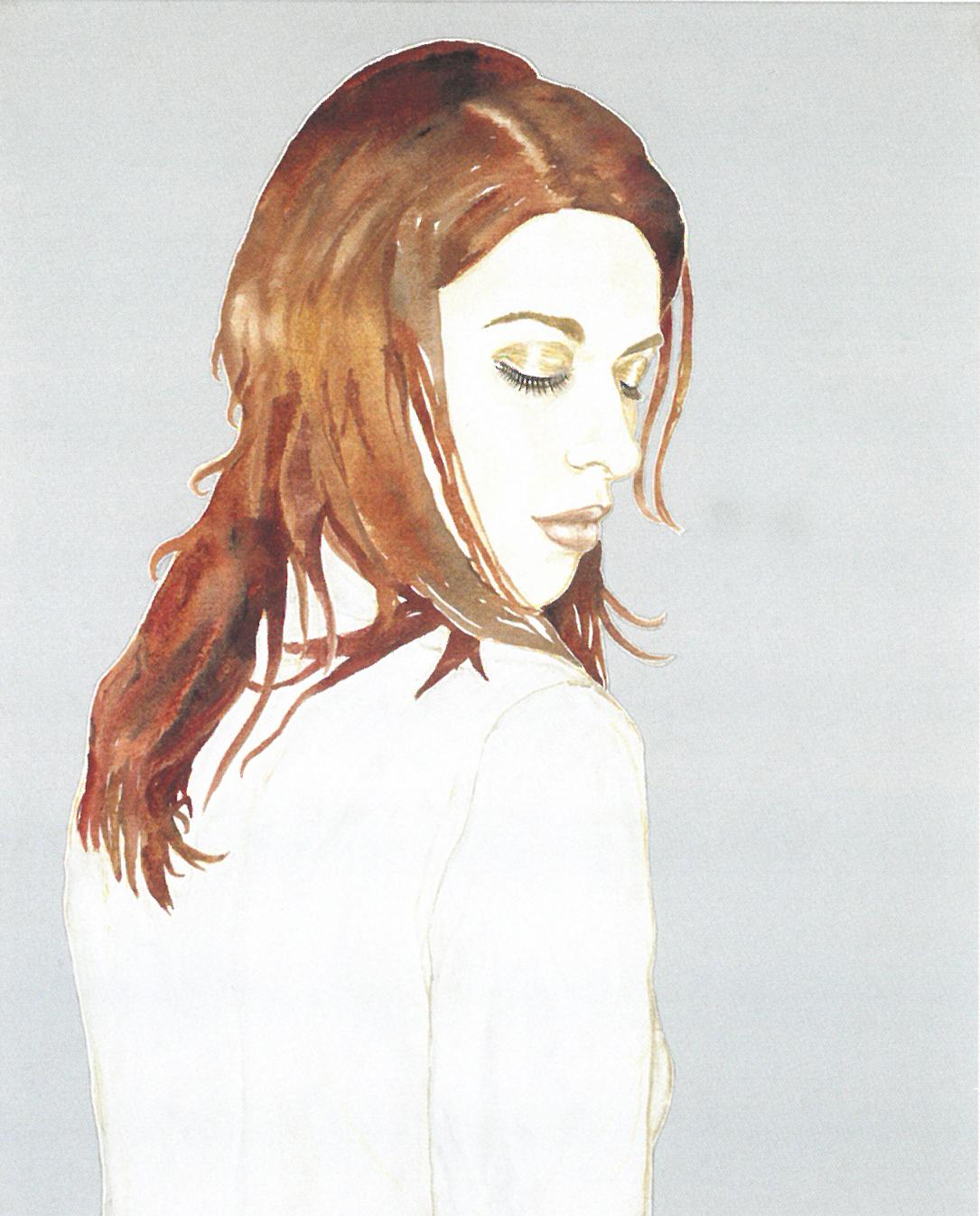 ABETZ & DRESCHER  Atmosphéres 100 x 80 cm acrylic on canvas 2000