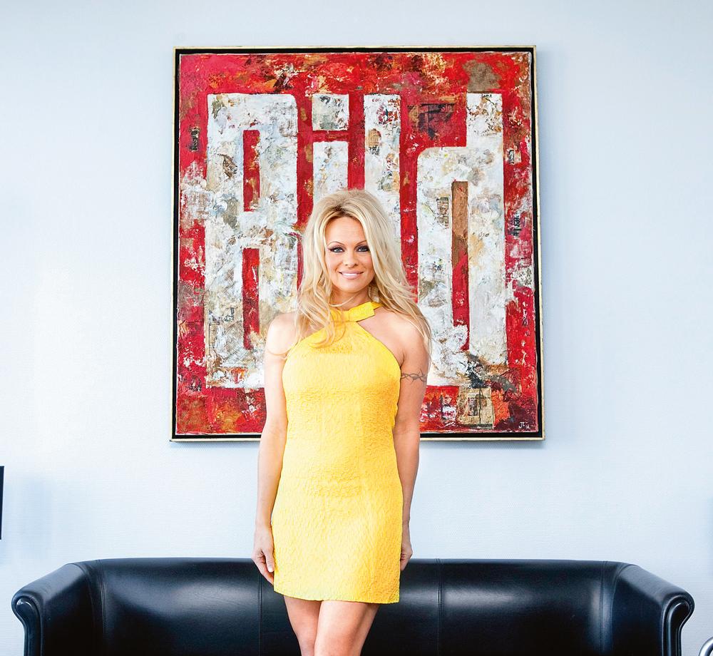 Pamela Anderson Fotograf: Christian Lohse 2012