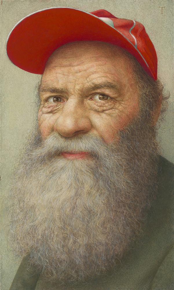 Michael Triegel Roemischer Bettler 2018 Eitempera und Öl auf MDF 43,2 x 26 cm Privatbesitz  Foto: Galerie Schwind, Leipzig © VG Bild-Kunst, Bonn 2019