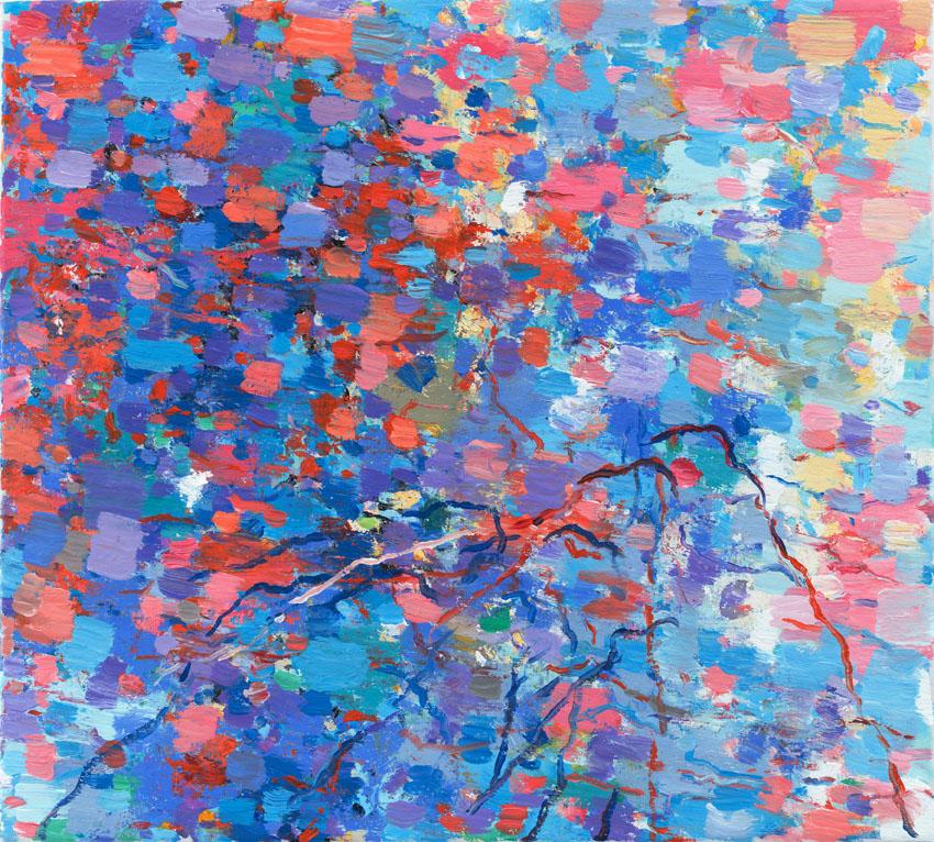 Uwe Kowski Gruppenbild, 2018 Öl auf Leinwand 45 x 50 cm Courtesy Galerie EIGEN + Art Leipzig/Berlin Foto: Uwe Walter, Berlin ⓒ VG Bild Kunst, Bonn