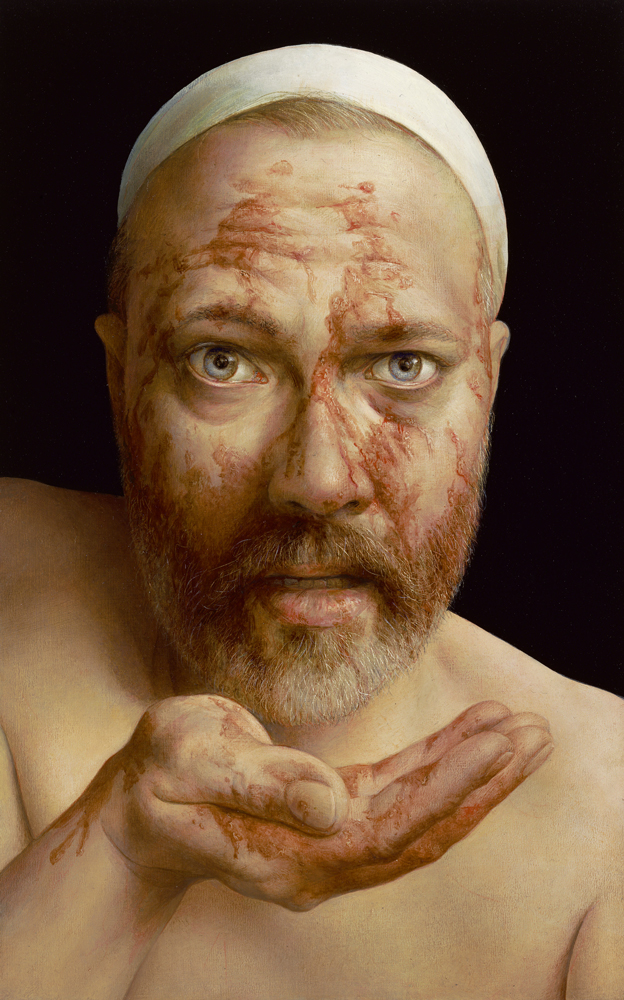 Michael Triegel, Tenebrae,  2018, Mischtechnik auf MDF 30 x 19 cm, Privatbesitz, Foto: Galerie Schwind © VG Bild-Kunst, Bonn 2020